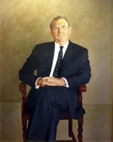 Portrait of David Asimus, AO, by Wes Walters