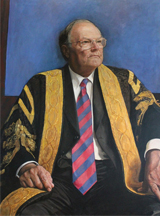 Portrait of Lawrence Willett, AO, by Jiawei Shen